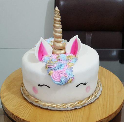 Pastel Fondant Unicornio, compra tu pastel con envío a domicilio en Creapasteles.com