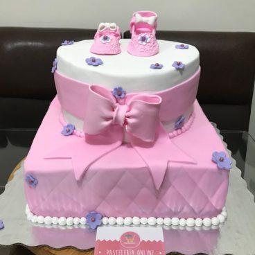 Pasteles De Baby Shower De Nina Image Cabinets And Shower Mandra