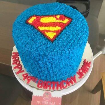 Compra tu Pastel Fondant Superman en Creapasteles.com