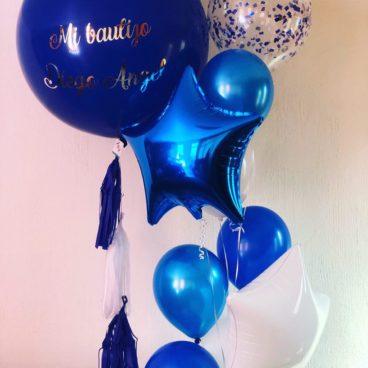Globos de Helio Azules