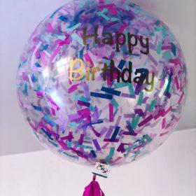 Globo de Helio Gigante Happy Birthday
