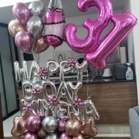 Bouquet de globos personalizado